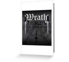 Wrath - [ the Black Dagger Brotherhood ] Greeting Card