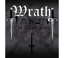 Wrath - [ the Black Dagger Brotherhood ] Photographic Print
