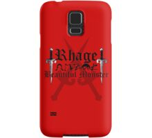 Rhage - [ the Black Dagger Brotherhood ] Samsung Galaxy Case/Skin