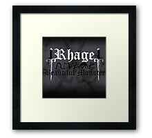 Rhage - [ the Black Dagger Brotherhood ] Framed Print