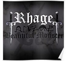 Rhage - [ the Black Dagger Brotherhood ] Poster