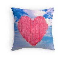 Pop Art Style Love Concept Throw Pillow