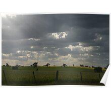 Greener Pastures Require More Rain Poster