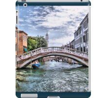 Under The Bridges Of Venice iPad Case/Skin