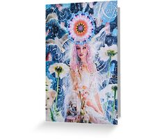 The Power Of The Divine Feminine Greeting Card