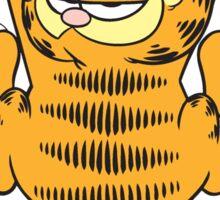 Funny Garfield Cat Sticker