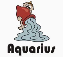 Aquarius Baby Tee