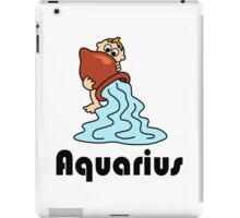 Aquarius iPad Case/Skin