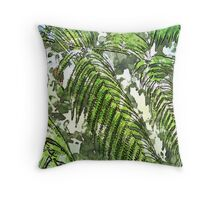 MSFW15-7 DAYS OF SUMMER- TROPICAL LEAVES PILLOWS AND TOTES Throw Pillow