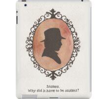 Indiana Jones Cameo iPad Case/Skin