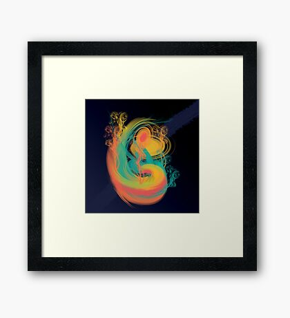 Punch Drunk Cosmos Framed Print
