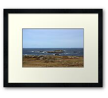 Atlantic Coast - Donegal Framed Print