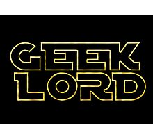 Geek Lord-Star Wars Photographic Print