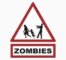 Beware zombies Kids Clothes