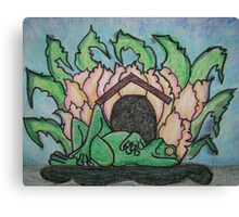 Frog Camp Canvas Print