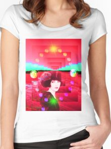 Dream Planet Women's Fitted Scoop T-Shirt