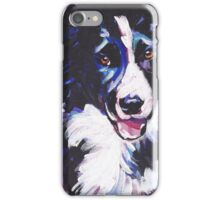 Border Collie Bright colorful pop dog art iPhone Case/Skin