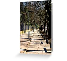 Walkway Greeting Card