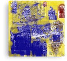 grunge art Canvas Print