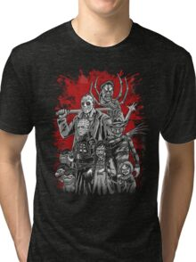 Horror League ver.2 Tri-blend T-Shirt