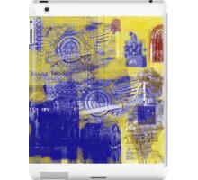 grunge art iPad Case/Skin
