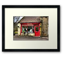 The Butchers - Helmsley Framed Print