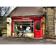The Butchers - Helmsley Photographic Print