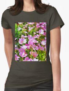 Garden Flowers Womens Fitted T-Shirt