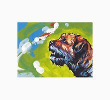 Border Terrier Bright colorful pop dog art Unisex T-Shirt