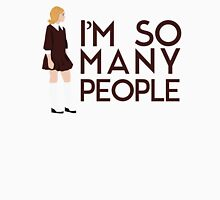 I'm so many people - Sally Draper from Mad Men Quote Men's Baseball ¾ T-Shirt
