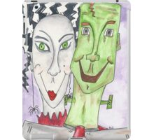 Mr. and Mrs. Frankenstein iPad Case/Skin