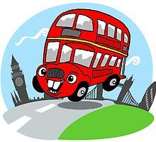 Funny London bus by masterchef-fr