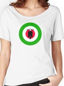 Scooter target - Mods Italy Women's Relaxed Fit T-Shirt