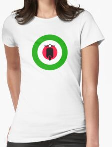 Scooter target - Mods Italy Womens Fitted T-Shirt