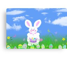 Hunting Eggs Canvas Print
