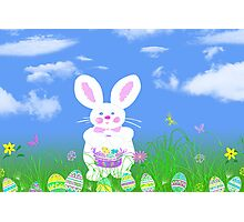 Hunting Eggs Photographic Print