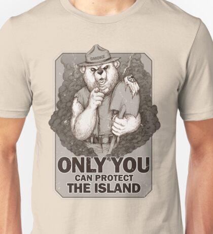 Smoke The Lost Bear Unisex T-Shirt