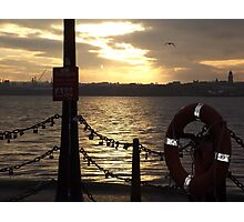 Liverpool Pier Photographic Print