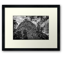 Devils Tower, Wyoming Framed Print