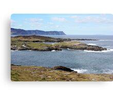 Rugged Donegal Coast Metal Print