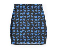 Blue Pet Dog Mini Skirt