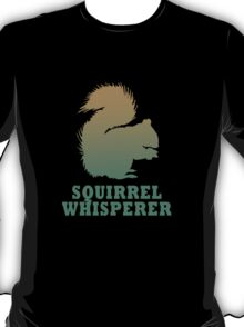 Vintage squirrel whisperer geek funny nerd T-Shirt