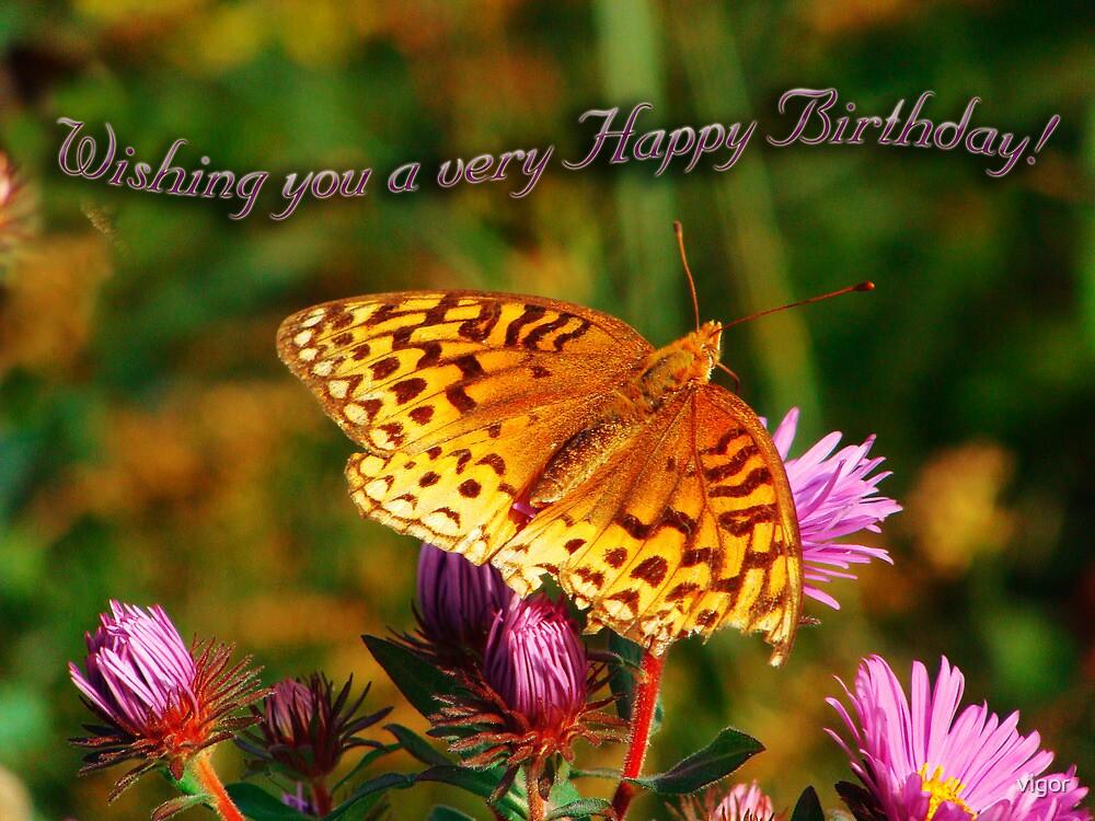 Happy Birthday to You by vigor