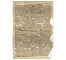(PAGE 2) PORTLAND TRANSCRIPT, AUG.27, 1853 Poster