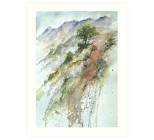 'The Berg' Art Print