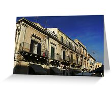 noto street Greeting Card