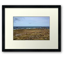 Rugged Donegal Coastline Framed Print