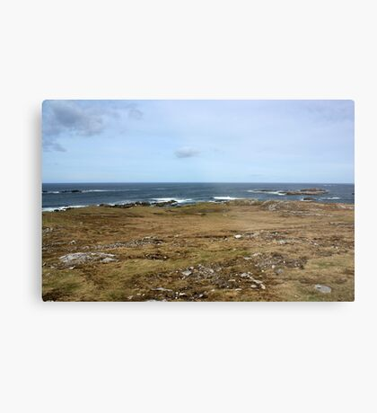 Rugged Donegal Coastline Metal Print