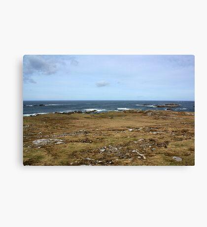 Rugged Donegal Coastline Canvas Print