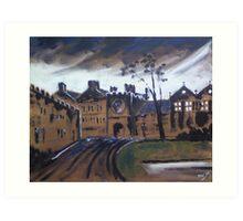 'East Riddlesden Hall' Art Print
